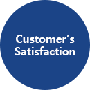 customer's satisfaction